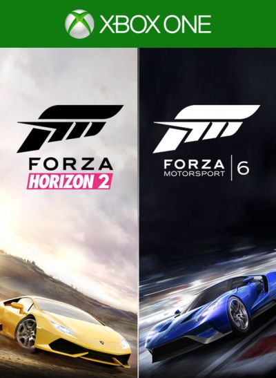 Forza Motorsport 6 and Forza Horizon 2 Bundle