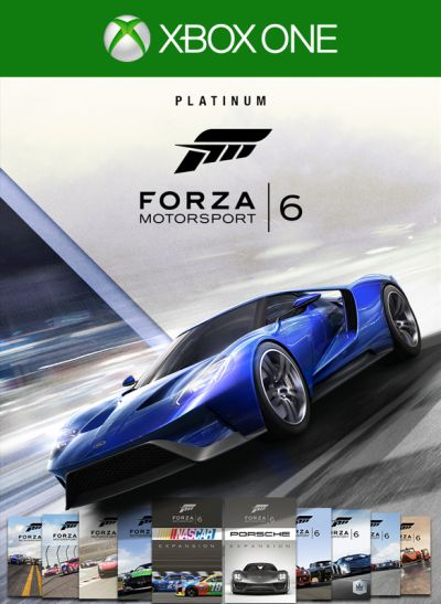 Forza Motorsport 6 Platinum Edition Bundle