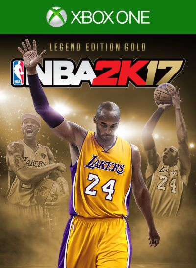 NBA 2K17 Legend Edition Gold