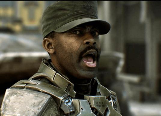 Sgt. Johnson chega ao campo de batalha em Halo Wars 2