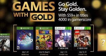 Games with Gold: Julho de 2017