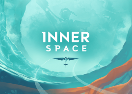 Explore planetas invertidos com o curioso jogo Innerspace