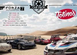 Pacote de carros Totino's já disponível para compra em Forza Motorsport 7