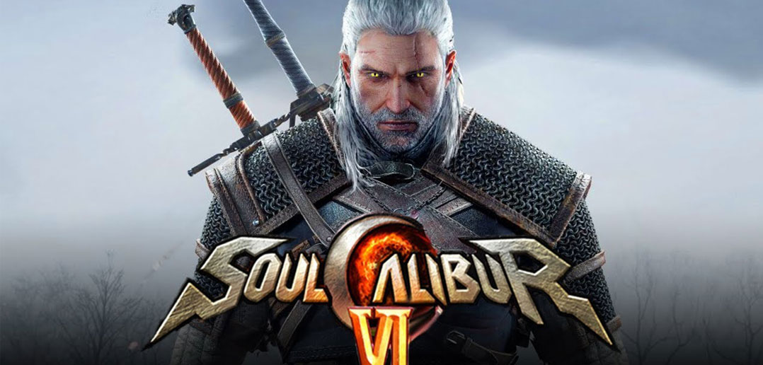 Geralt de The Witcher III em Soul Calibur VI