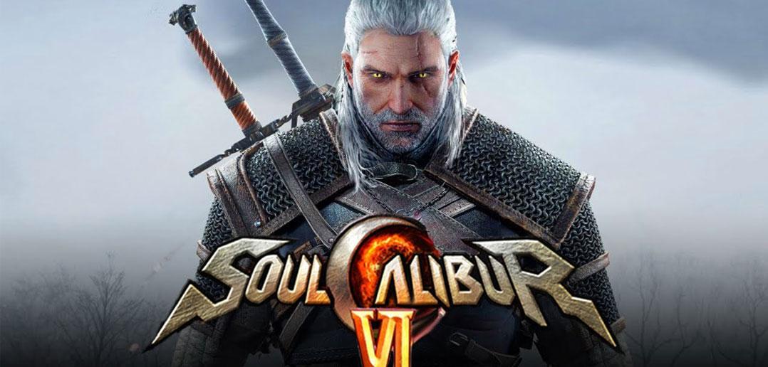Geralt de The Witcher III em Soul Calibur VI