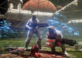 Genesis: Alpha One traz uma proposta com FPS, exploração e construção