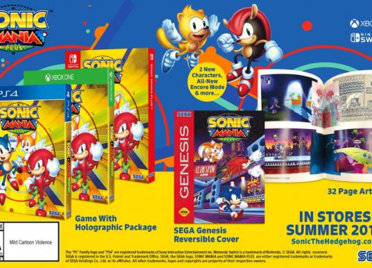 SEGA anuncia Sonic Mania Plus!