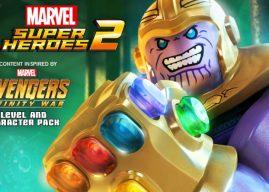 """WB Games anuncia o lançamento do DLC """"Vingadores: Guerra Infinita"""" para LEGO Marvel Super Heroes 2"""