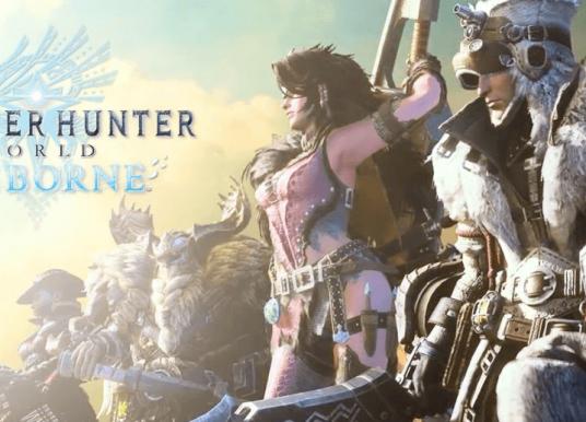 Iceborne é mega expansão de Monster Hunter: World
