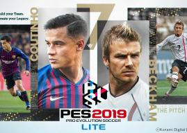 Konami anuncia versão gratuita de PES 2019 LITE