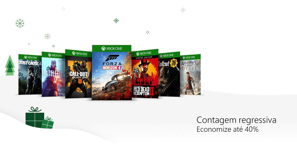 Countdown Sale até 03 de Janeiro de 2019 - Xbox Power