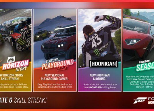Atualização Serie 6 para Forza Horizon 4
