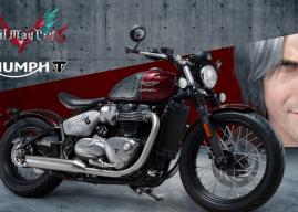 Capcom e Triumph fecham parceria para moto inspirada em Devil May Cry 5