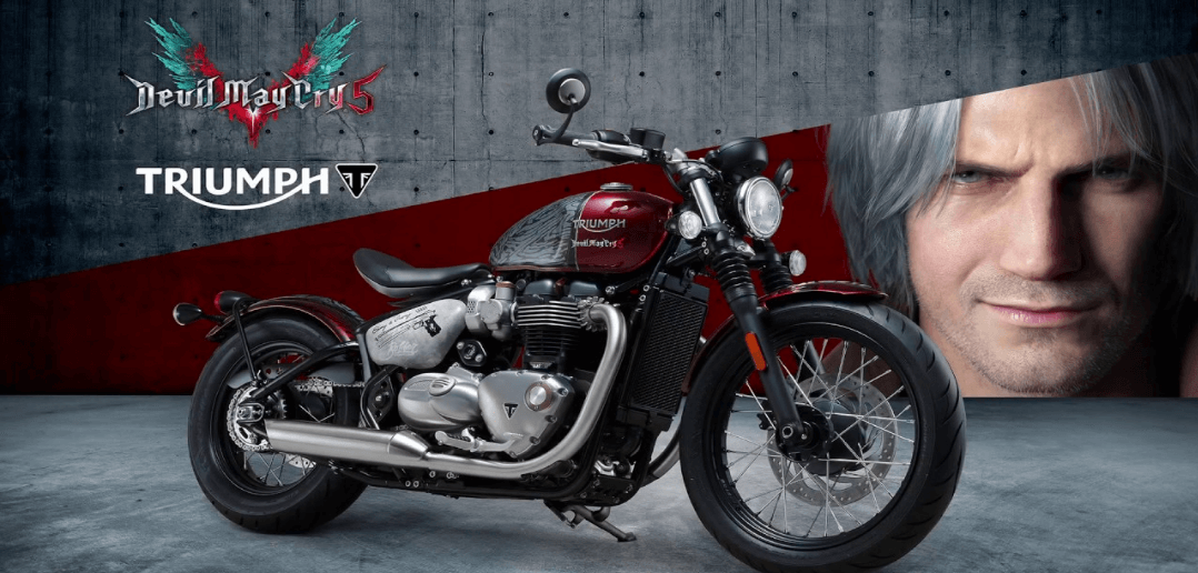 accbeea89 Capcom e Triumph fecham parceria para moto inspirada em Devil May Cry 5