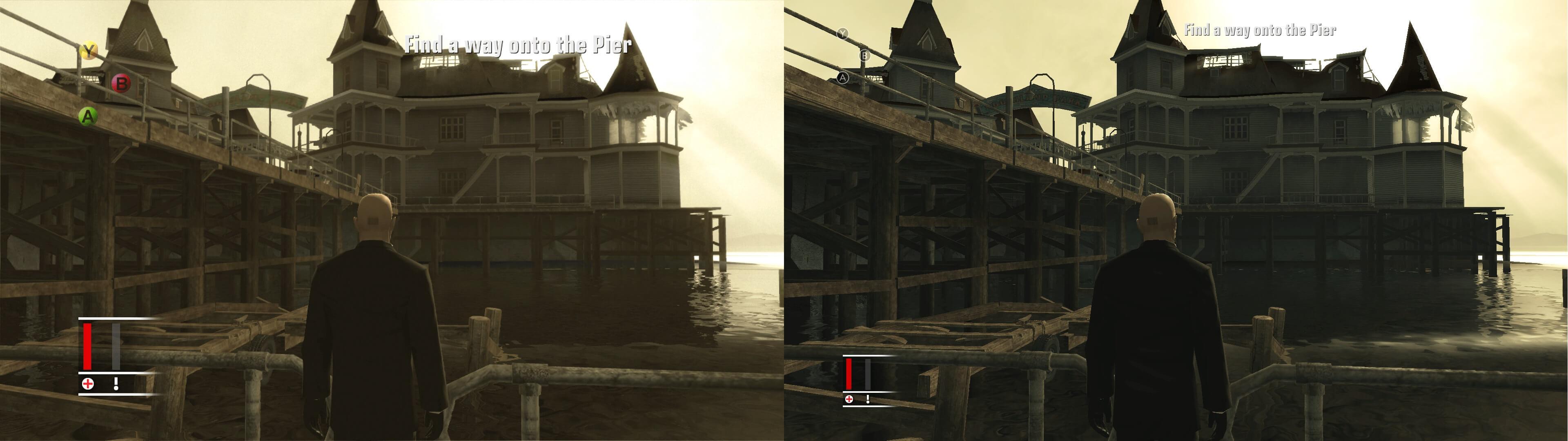 Comparativo Blood Money Xbox 360 e Xbox One