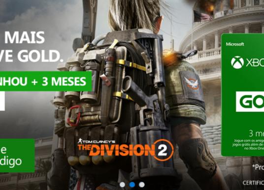 Excelente promoção rolando na Xbox Live