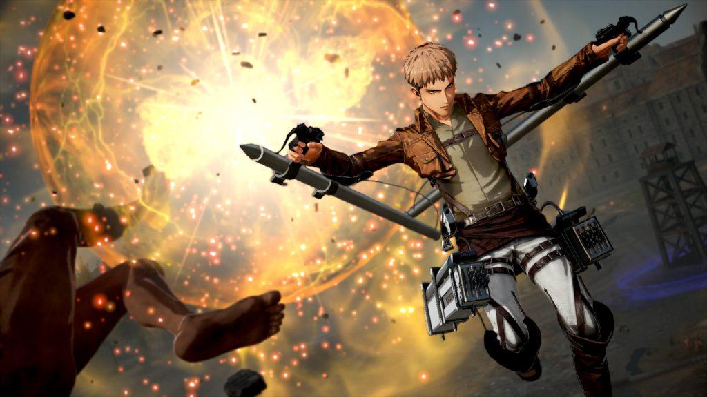 Confira o arsenal disponível em Attack on Titan 2: Final ...