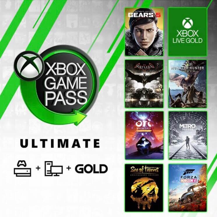 Assine Agora, Xbox Game Pass Ultimate por R$1