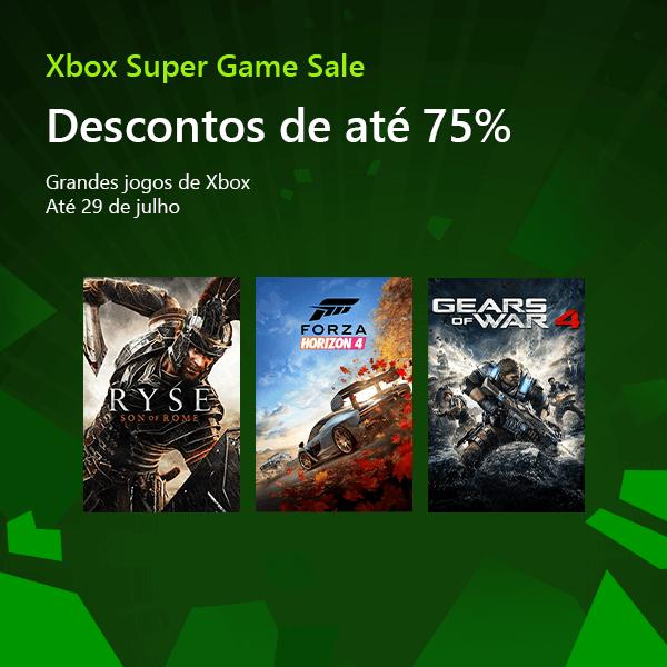 Promoção Xbox Super Game Sale 2019 – Xbox One