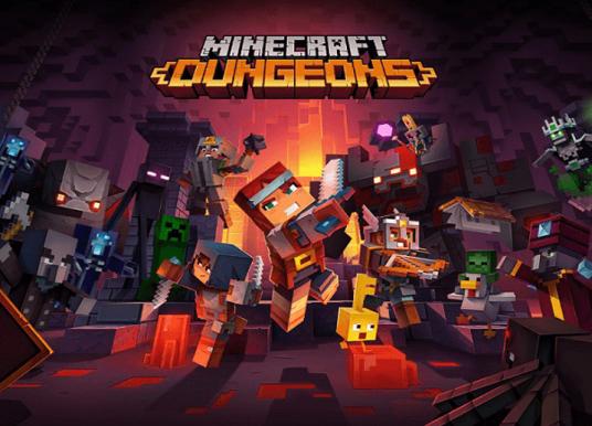 Minecraft Dungeons apresenta toda sua diversão em novo gameplay