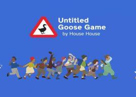 O popular Untitled Goose Game chega esse mês ao Xbox One
