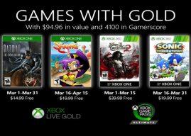 Games with Gold: Março de 2020