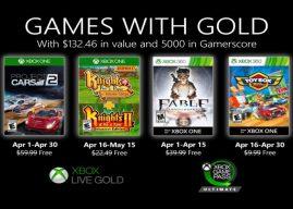 Games with Gold: Abril de 2020