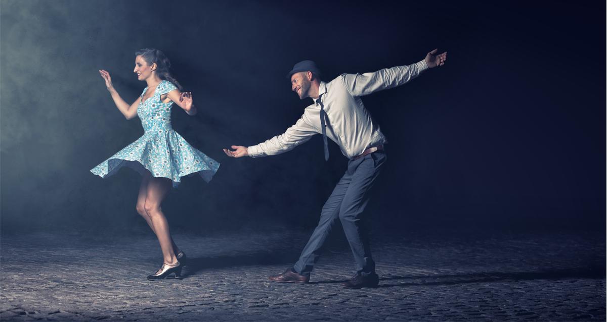 Lindy Hop Dancers