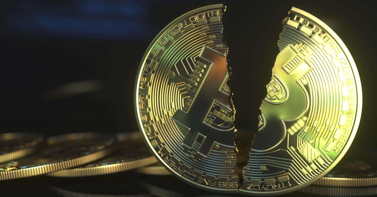 Half a bitcoin