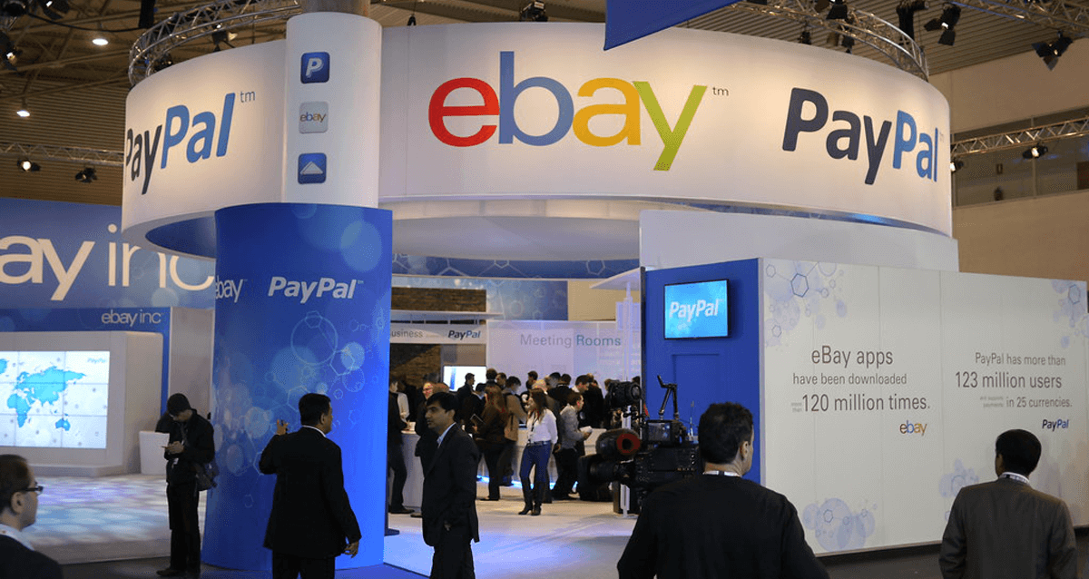 Paypal desk at conference