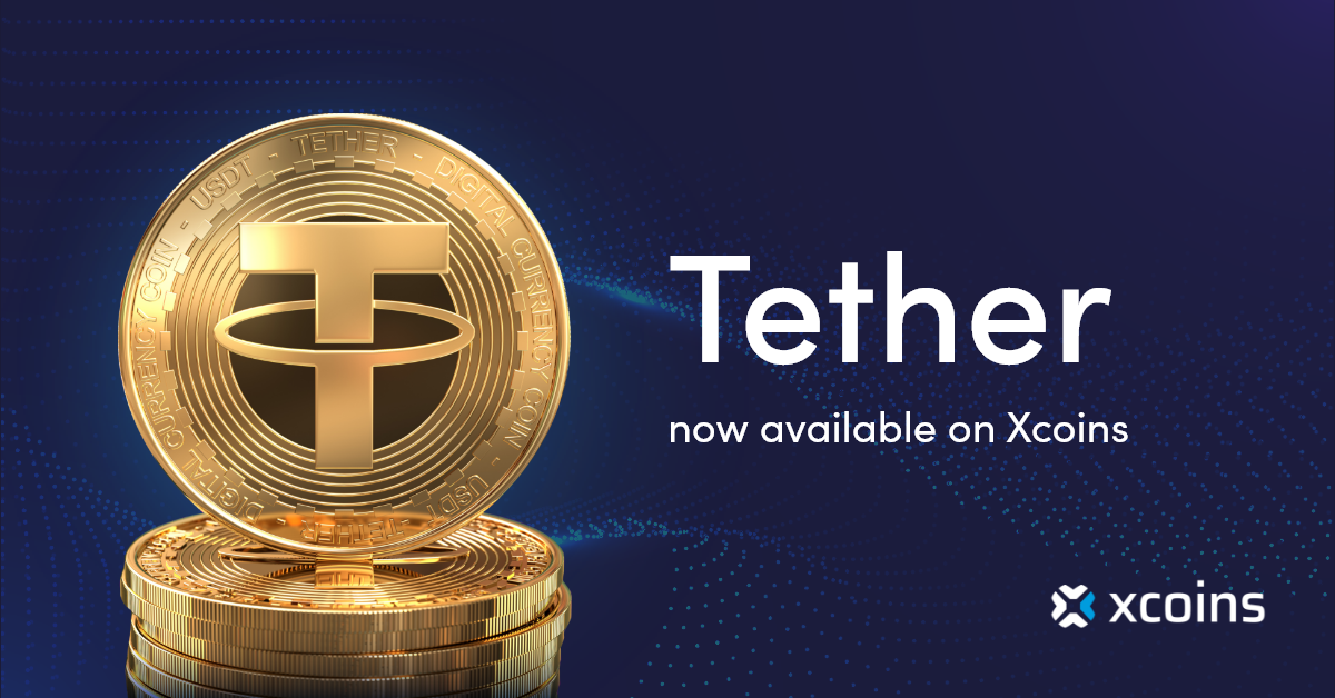 Tether at xcoins