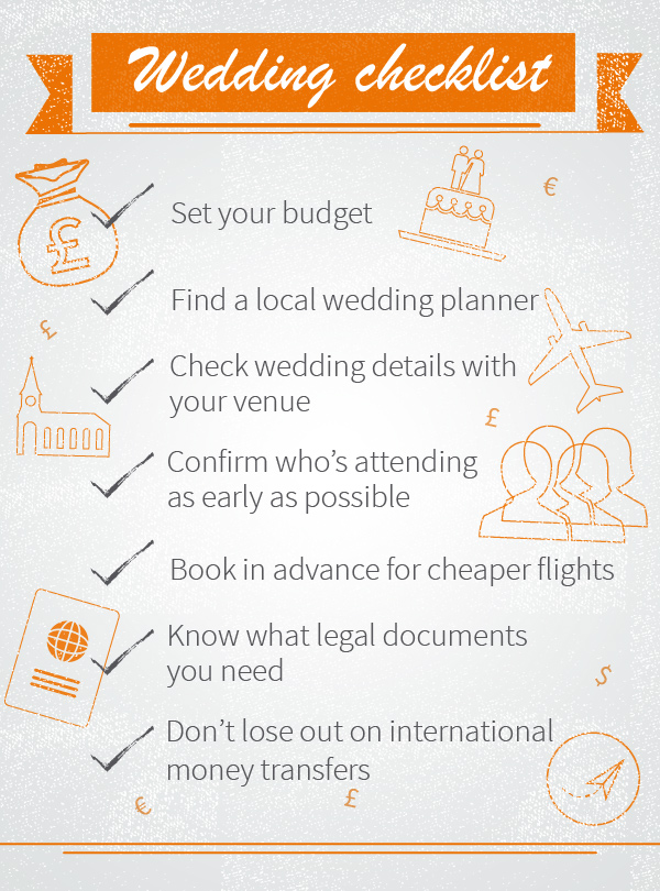 Our key tips for controlling overseas wedding costs