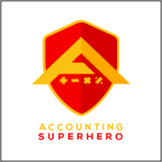 Accounting Superhero by MFP