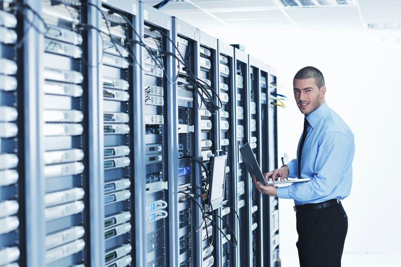 Server rack cooling system