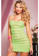 RIOT GRLY-NT STRIPED DRESS-LME OS (DISC)