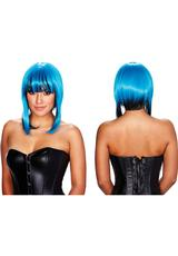 BELLADONNA WIG - BLUE / BLACK
