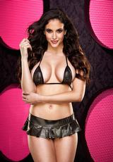 BTTOMS UP MINI SKIRT SET-BLK/ GLD (DISC)