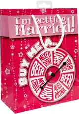 GET MARRIED BACHELORETTE SPINNER GIFTBAG