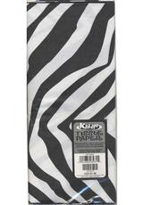 ZEBRA BLACK AND WHITE TISSUE PAPER