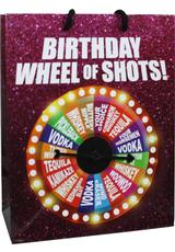 B-DAY WHEEL OF FORTUNE SPINNER GIFT BAG