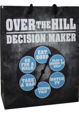 OVER HILLDECISION MAKER SPINNER GIFT BAG