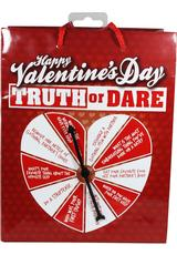 TRUTH/DARE V-DAY SPINNER GIFT BAG