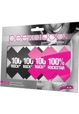 100% ROCKSTAR-BLACK/PINK (DISC)