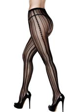 JACQUARD PANTYHOSE-QUEEN (DISC)