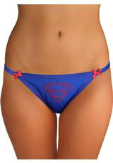 SUPERMAN LACE BACK PANTY-1X/2X