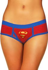 SUPERMAN BOYSHORT W/FOIL LOGO-1X/2X