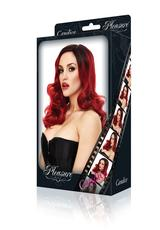 CANDICE WIG-RED WITH BLACK