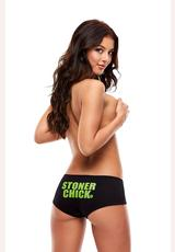 STONER CHICK BOOTYSHORTS-MEDIUM/LARGE