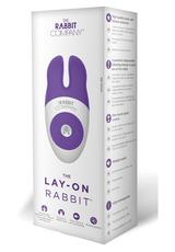 LAY-ON RABBIT-PURPLE