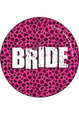 BRIDE 3 INCH BUTTON